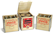 Coke Crate Audio System